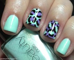polish my mind: Pastel leopard? Why not!