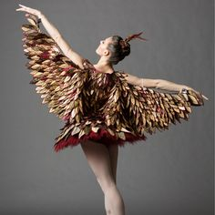 One O'Clock: The Cuckoo Bird, NYCB principcal dancer Tiler Peck. Photo by Erin Baiano.-Wmag