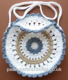 Round Shoulder Bag ~ Patterns For Crochet