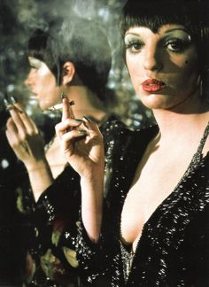 Liza Minnelli as Sally Bowles in Bob Fosse's Cabaret (1972).