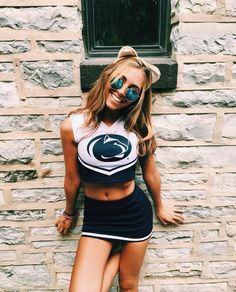 Adorable Penn State cheer beauty.