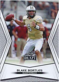 Blake Bortles Jacksonville Jaguars 2014 Leaf Draft Card #78 Jacksonville Jaguars Football, Football Cards, Baseball Cards, Blake Bortles, Nfl, Sports, Soccer Cards, Hs Sports, Sport