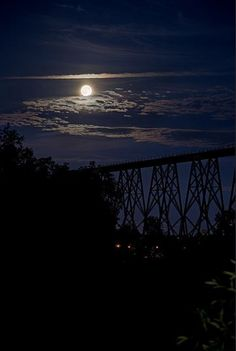 Your Weekend 'SuperMoon' Photos from Around the World by NANCY ATKINSON on JULY 14, 2014 A 3-exoposure of the full Moon on July 12, 2014, taken near Cap-Rouge, Quebec City, Quebec, Canada. Credit and copyright: Denis Marquis.