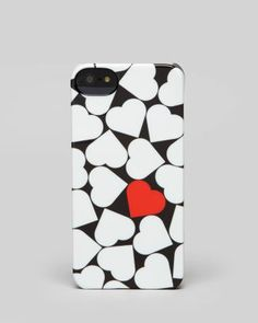 Cheap & chic!! Incase iPhone 5/5s Case - Hearts Snap  Bloomingdale's on sale $21