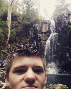 Selfie with the waterfall #selfie #falls #phantomfalls #lorne by _chris_barney http://ift.tt/1IIGiLS