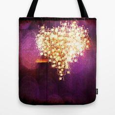 violet+heart+Tote+Bag+by+Parastar+Arts+-+$22.00