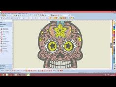 ▶ BERNINA Designer Plus V7 Coloring Tools 1 - YouTube