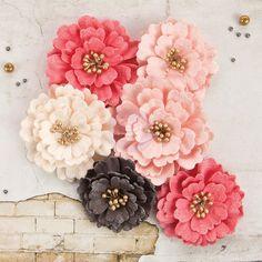 246 best beautiful prima paper flowers images on pinterest paper rossibelle flowers ulyssia silk flowers paper flowers fabric flowers crate paper mightylinksfo