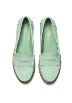 Ice Cream Mint Loafers.