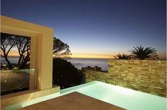 luxus villa cape town panoramablick