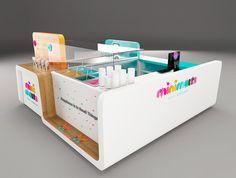 """Colaboración desarrollo de concepto y proceso de diseño del nuevo punto de venta de la marca de helados """"Minimelts""""Ubicación: San Lucas. Medellín, Colombia MASIF Design Affairs"""
