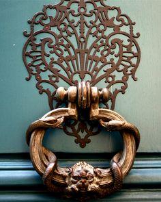 Door knocker in Paris