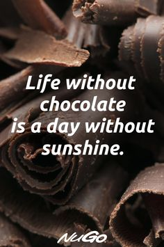 NuGo Dark bars are Gluten Free, Vegan & have protein. Dipped in decadent, REAL Dark Chocolate, they have the nutrition you need & the flavor you love. Chocolate Lovers Quotes, Funny Chocolate Quotes, Chocolate Humor, Dairy Milk Chocolate, I Love Chocolate, Crazy Girl Quotes, Girly Quotes, Funny Girl Quotes, True Quotes