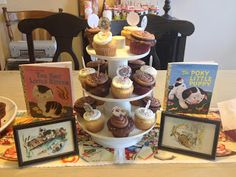 Vintage kitten and puppy party theme