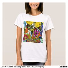 Latest colorful amazing floral pattern design art. #Hakuna #Matata #Amazing #beautiful #stuff #products #sold on #Zazzle #Achempong #online #store for #the #ultimate #shopping #experience.