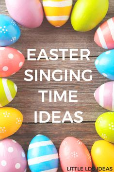 Need some fun Easter Singing Time Ideas for Primary this month? Here are some fun, and easy, ideas that would be perfect! Ideas from Little LDS Ideas.
