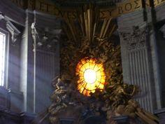 Altar; Basilica de San Pedro, Ciudad del Vaticano.
