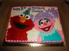 Abby Cadabby Cupcakes Trendy Treatz NY Wwwtrendytreatznycom - Elmo and abby birthday cake
