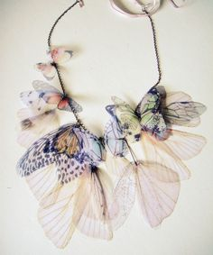 Fluttery Breath of Life Necklace.