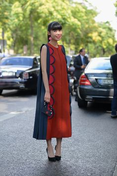 Very personal style! Paris Couture Week, on the streets.
