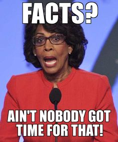 Its Maxine Waters Monday this week! From plotting to send the Tea Party to H.E. Double Hockey-sticks, to wanting others to peg leg down the plank, this California liberal communist is all about kil-er-helping the little guy. A big fan of spontaneous reactions to a lot of injustice, and thick framed specs, Congresswoman Waters might be a lot of things, but at a loss of words, she most certainly is not.