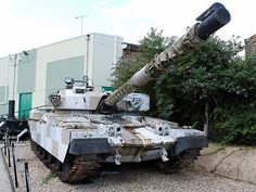 FV 4201 Chieftain  Mk  10  MBT     at the Combined Military Services Museum Maldon Essex.