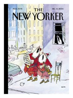 George Booth New Yorker Covers Prints at the Condé Nast Collection