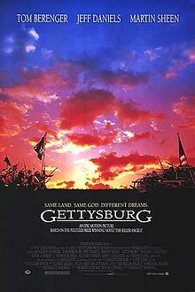 "#1: Gettysburg 1993   Directed by: Ronald F. Maxwell   ""To be a soldier you must love the army, to be a good commander you must be able to order the death of the thing you love."""