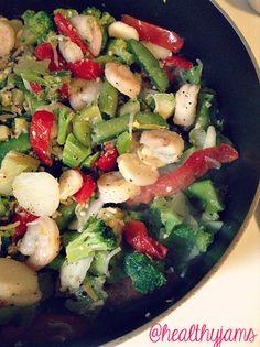 Indian Spiced Shrimp, healthy shrimp recipes, shrimp with yogurt ...