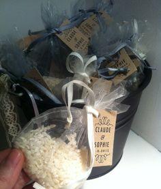 bolsa para el arroz : bossa per l'arròs · pétals · ideas para boda · detalles boda personalizados · bolígrafos gravados · detalls casament barcelona · detalles boda barcelona · tienda de detalles de boda · botiga detalls casament