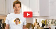 Kevin Bacon in a Hilarious Ad for Eggs