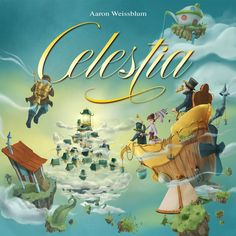 Quick Simple Fun Games Celestia-Board Game in Board Games. Games Box, Fun Games, Card Games, Awesome Games, Board Game Box, The Journey, Player Card, Voyage, Children