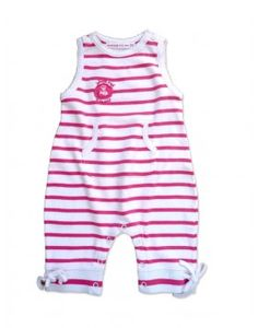 Striped pink and white Onesies