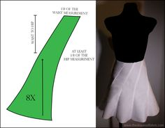 Let's draft some panel-skirts! - The Shapes of Fabric Let's draft some panel-skirts! – The Shapes of Fabric Dress Sewing Patterns, Clothing Patterns, Skirt Patterns, Mermaid Skirt Pattern, Pants Pattern Free, Pattern Draping, Drape Skirt Pattern, Skirt Tutorial, Pattern Cutting