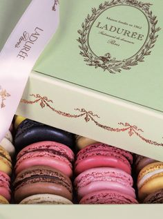 Macarons from Laduree - simply magnifique in our opinion!