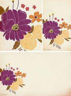 FREE Desktop / iPhone Wallpaper by Lisa Rupp | Autumn Floral