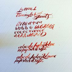 #lettering #handlettering #typography #calligraphy #practicedaily #practice #lesson #triangles and #slants