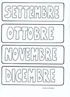 Il cartellone per segnare la routine è indispensabile nella scuola dell'infanzia: che tempo fa..che mese è… che giorno è… in che stagio... 1st Day Of School, Middle School, Italian Language, Craft Activities, Classroom, Teaching, Education, Blog, Routine