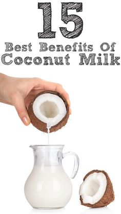 Coconut milk has many benefits for the health, hair and skin. Here is a list of them!