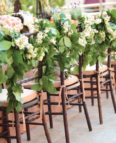 13 Genius Places To Hang A Wedding Garland | TheKnot.com