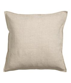 Check this out! PREMIUM QUALITY. Cushion cover in washed linen with concealed zip.