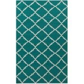 Love this Gate Rug Teal Green from 4-chairs.com!  Only $98! #rugs #fourchairs