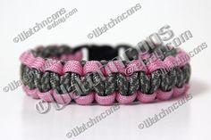 Paracord Survival Bracelet    Blake just bought stuff to make one of these for me