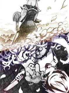 Asriel et Chara-Undertale