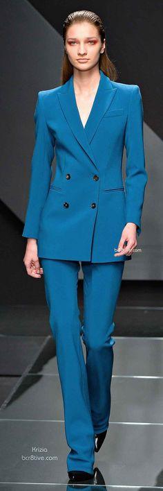 Fall 2014 Menswear Inspired Fashion - Krizia