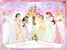 disney princess in their wedding dresses | disney princesses wedding - Disney Princess Photo (33279559) - Fanpop ...