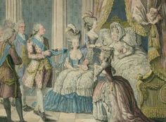 Birth of Louis Xavier Francois, Daupin of France