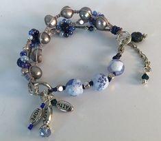 CORINTHIA Beaded Bracelet Bangle Bracelet zoetwaterparels