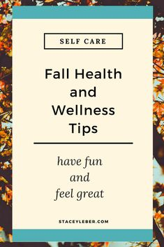 This is a fantastic time of year to get outside. These simple, fall health and wellness tips can help you and your family feel great and have fun doing it! Changing seasons is nature's way of helping us refresh our vision, outlook, and goals. Use this fall season to refresh your self care routine and add movement and healthy habits to your every day. #selfcare #healthandwellnesstips #healthyliving #healthylifestyle Spiritual Wellness, Wellness Quotes, Wellness Tips, Health And Wellness, Mental Health, Health And Fitness Tips, Health And Beauty Tips, Health Tips, Get Healthy