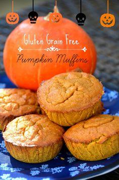 Gluten Grain Free Pumpkin Muffins